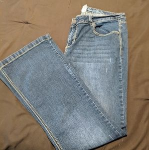 Rebel By Right boot cut jeans size 18